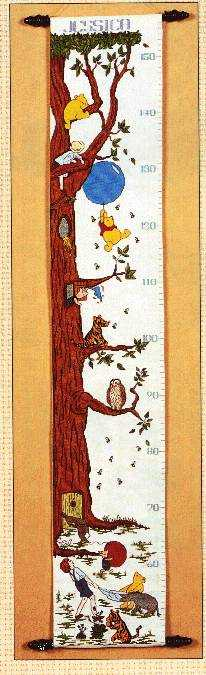 H08 - The Classic Winnie the Pooh Height Chart